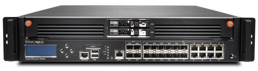 SonicWALL SuperMassive 9800 Series