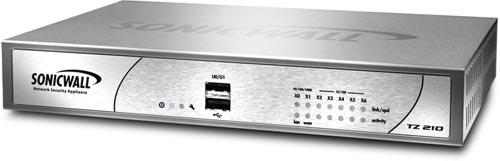 SonicWALL TZ 210 Series