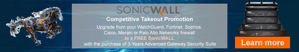 SonicWall Competitive Takeout Promotion