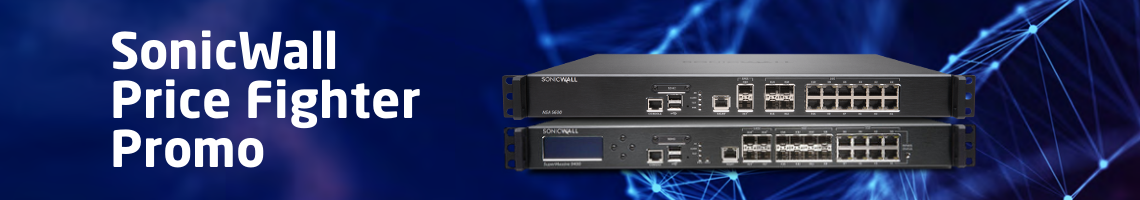 SonicWALL Price Fighter Promo